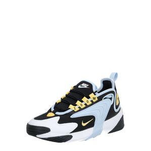 Nike Sportswear Nízke tenisky 'Nike Zoom 2K'  svetlomodrá / čierna / zlatá
