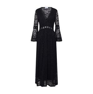 Carolina Cavour Večerné šaty 'midi lace dress'  čierna