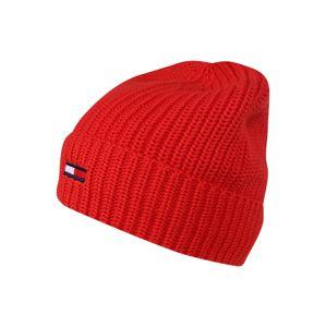 Tommy Jeans Čiapky  červená / biela / námornícka modrá