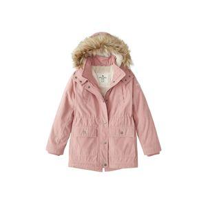 Abercrombie & Fitch Zimná bunda  ružová