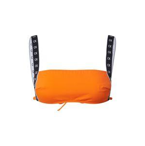 Calvin Klein Swimwear Bikinový top 'SQUARE'  oranžová