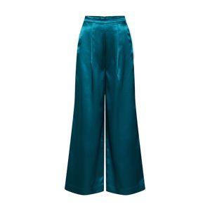 EDITED Plisované nohavice 'Manaba'  petrolejová