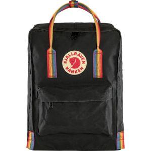 Fjällräven Športový batoh 'Känken Rainbow'  čierna / zmiešané farby