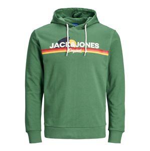 JACK & JONES Mikina  trávovo zelená