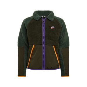 Nike Sportswear Flisová bunda  jedľová / hnedé / kaki