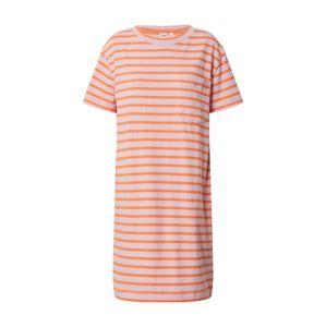 GAP Letné šaty  ružová / oranžová