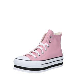 CONVERSE Členkové tenisky 'CHUCK TAYLOR ALL STAR'  ružová / biela