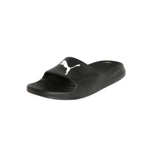 PUMA Plážové / kúpacie topánky 'Divecat'  čierna / biela