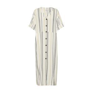 EDITED Letné šaty 'Yoko'  fialová / čierna / biela