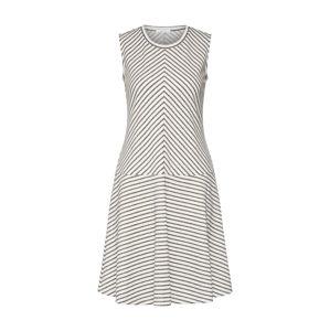 OPUS Letné šaty 'Wimo'  sivá / prírodná biela