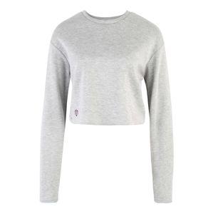 MOROTAI Funkčné tričko 'NAKA WB Cropped Longsleeve'  svetlosivá