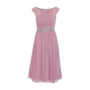 Little Mistress Kokteilové šaty  ružová / eozín