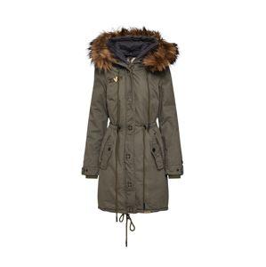 khujo Zimný kabát 'ADELISA'  olivová