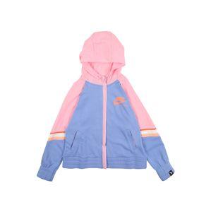 Nike Sportswear Tepláková bunda  ružová / modrá / červená / fialová
