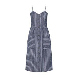JACQUELINE de YONG Letné šaty 'LULU'  námornícka modrá / biela