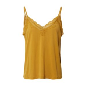 ONLY Top 'ONLFREE LIFE S/L LACE TOP JRS'  žltá