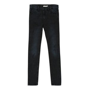NAME IT Džínsy 'PETE'  čierny denim