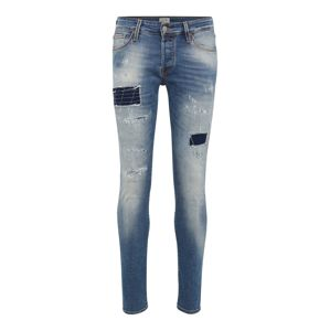 JACK & JONES Jeans 'JJIGLENN JJICON BL 817'  modrá denim