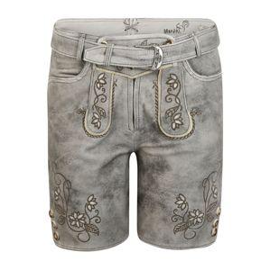 MARJO Krojové nohavice 'Elsa'  sivá