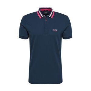 BOSS ATHLEISURE Tričko 'Paddy 1'  námornícka modrá