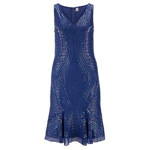 heine Kokteilové šaty  kráľovská modrá