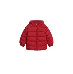 MANGO KIDS Zimná bunda  červená