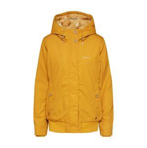 mazine Zimná bunda  zlatá žltá