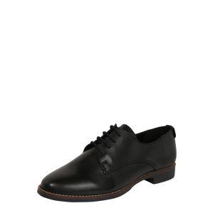 ALDO Šnurovacie topánky 'MAEDAGUA'  čierna