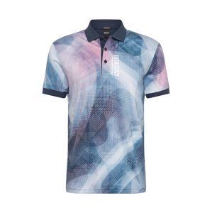 BOSS ATHLEISURE Tričko 'Paddy 6'  námornícka modrá