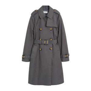 MANGO Prechodný kabát 'Polana'  sivá