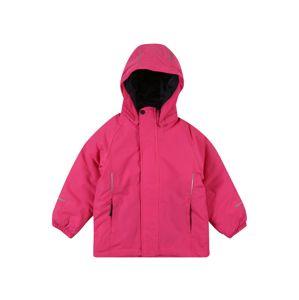 NAME IT Prechodná bunda  neónovo ružová
