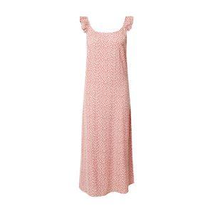 PIECES Šaty 'PCMAYA SLIP ANKLE DRESS'  ružová / ružová