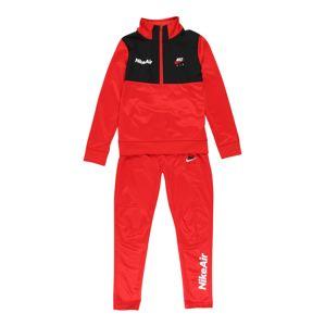 Nike Sportswear Set  červená / čierna / biela