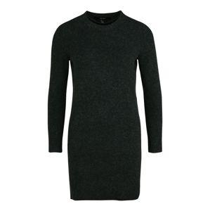 Vero Moda Petite Pletené šaty  tmavozelená