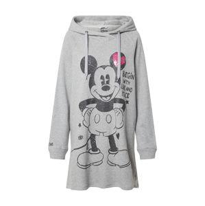 Frogbox Šaty 'Mickey'  sivá / čierna / ružová