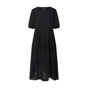 NEW LOOK Šaty 'Broderie Midi'  čierna