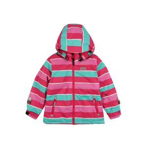 LEGO WEAR Prechodná bunda 'Jodie'  tmavoružová / ružová / biela / mätová