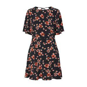 Fashion Union Šaty 'DORIS'  modrá / oranžová