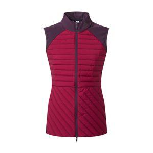 adidas Golf Športová vesta  farba lesného ovocia / tmavofialová