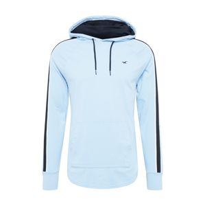 HOLLISTER Tričko  svetlomodrá / námornícka modrá / biela