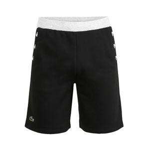 Lacoste Sport Športové nohavice 'Shorts'  čierna / sivá