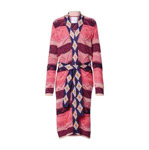 DELICATELOVE Pletený kabát 'Hailey'  ružová