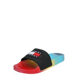Tommy Jeans Šľapky 'DEGRADE'  zmiešané farby / čierna