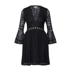 Carolina Cavour Šaty  čierna