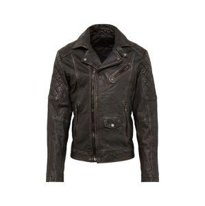 BE EDGY Prechodná bunda 'BEtom'  čierna