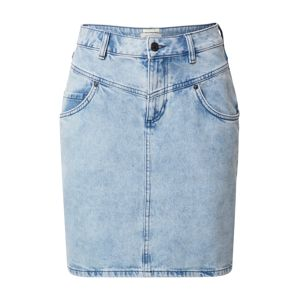TOM TAILOR DENIM Jeansrock  modrá denim
