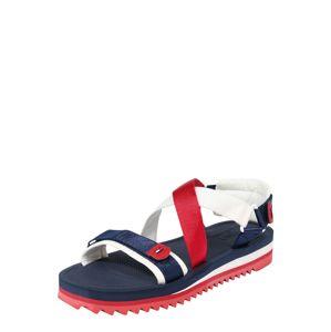Tommy Jeans Sandále 'SPIKEY 3'  modrá / červená / biela