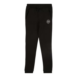 Jack & Jones Junior Jogginghose  čierna