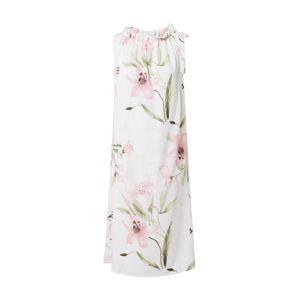 ZABAIONE Šaty 'Dilari'  ružová / biela / svetlozelená
