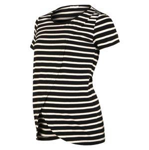 MAMALICIOUS Tričko 'MLOLINA IRIS'  biela / čierna